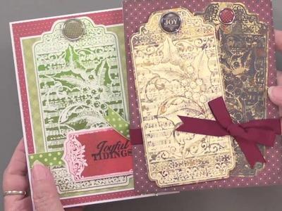 Teresa's Christmas Cardmaking: Christmas Tags, Labels & Trims