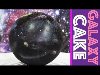 3D Galaxy Cake + DIY Galaxy Sprinkle Mix Surprise Inside   My Cupcake Addiction