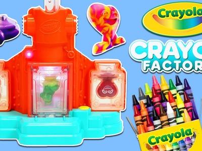 Crayola Crayon Factory Play Kit | DIY Fun & Easy Make Your Own Crayon Molds!