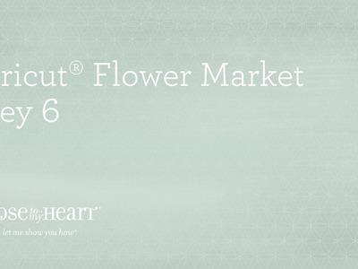 Cricut® Flower Market Collection: Baby or Little Girl Scrapbook