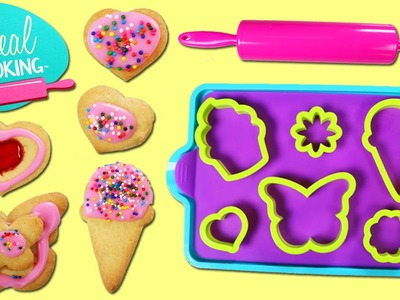 Deluxe COOKIE BAKING Playset | DIY Fun & Easy Bake Your Own Sprinkle Cookies!