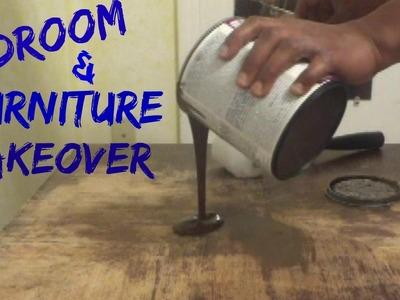 DIY Bedroom & Furniture Transformation