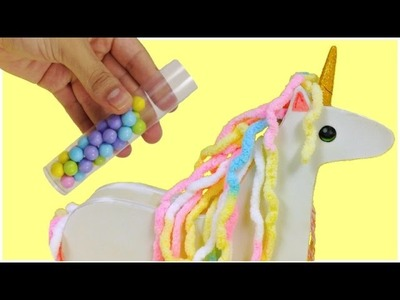 DIY Candy POOPING UNICORN\Candy dispenser