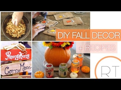 DIY Fall decor + Recipes