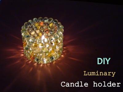 Diy Luminary candle holder