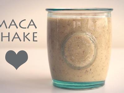 DIY MACA SHAKE RECIPE! Delicious + Healhy