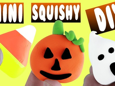 DIY | Mini Halloween Squishies - HOW TO MAKE A SQUISHY! HALLOWEEN DIY!