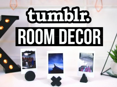 DIY ROOM DECOR! Tumblr Inspired 2016