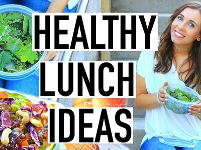 Healthy Lunch Ideas For Back To School! Lunch Hacks And DIY Healthy School Lunch!