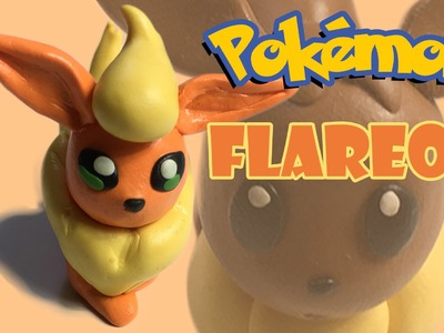 How to make Flareon | Pokemon GO | BunBum's Playdoh.Clay tutorial video