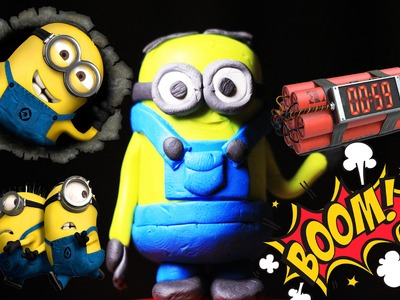 Minion DIY How to make a miniature evil minion Minions cartoon NEW 2016 HD