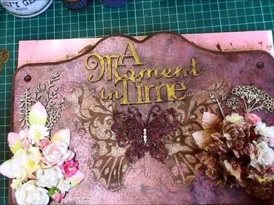 Mixed Media Butterfly Plaque Tutorial - jennings644