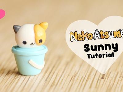Neko Atsume Sunny & Bucket│Polymer Clay Tutorial