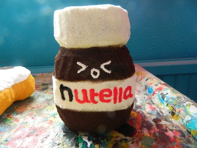 Nutella squishy tutorial =P