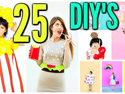 25 DIY Halloween Costume Ideas! 2016