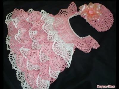 Crochet for beginners  Crochet tutorial  Crochet dress  86 part 3