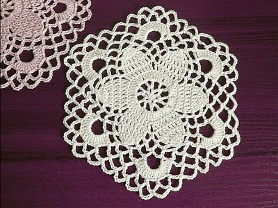 CROCHET Motif Tutorial Part 1 1- 6 round