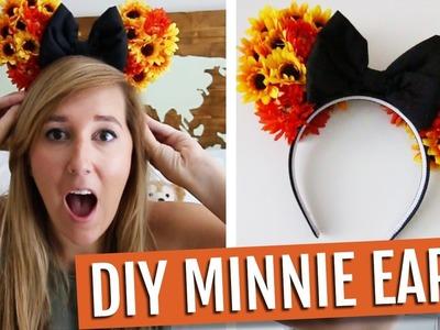 DIY DISNEY IT YOURSELF: FALL MINNIE EARS!   MollyBuck