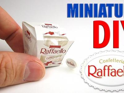 DIY Ferrero Raffaello Candy Box Miniature