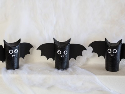 DIY: Halloween bats by Søstrene Grene