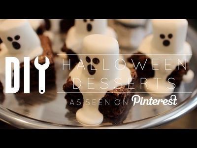 DIY Halloween Pinterest Desserts