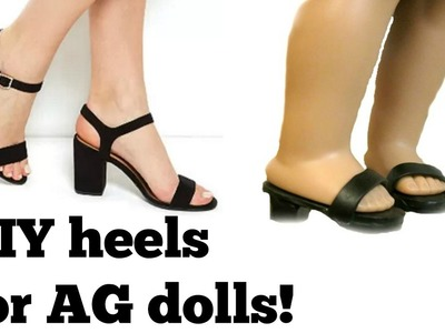 DIY High Heels for your American Girl doll!