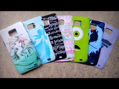 DIY Phone Case Designs - Easy to Make