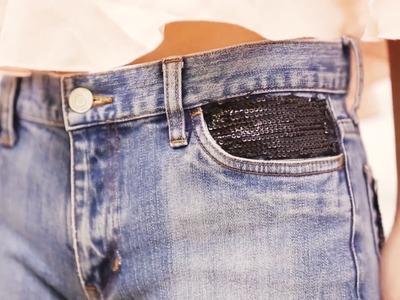 DIY: Revamp Your Old Jeans - POPxo