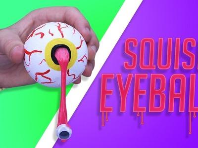 DIY SQUISHY SLIME EYEBALL!? - Make your own GRUESOME GIFT eyeball for HALLOWEEN!