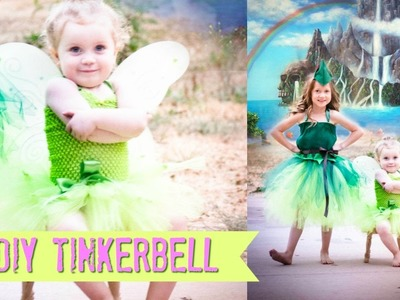 DIY TINKERBELL NO SEW Costume TUTU