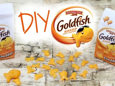 Doll Goldfish Crackers | DIY American Girl Doll Crafts