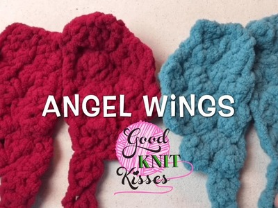 How to Crochet Angel Wings - 2 sizes (Infant and SUPER!)