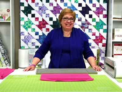 How to Cut Bias Binding with AccuQuilt GO! Strip Cutter Dies (Quick Tips)