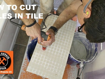 How to Drill a Hole in Ceramic or Porcelain Tile (Quick Tips) -- by Home Repair Tutor