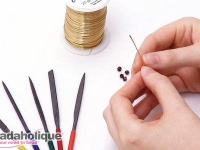 How To File the Edges of a Paddle Head Pin