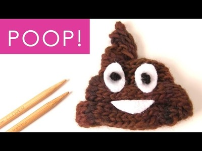 How to Knit the POOP Emoji