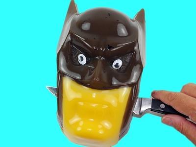How to Make Batman Gummy Shape Fun & Easy DIY Superhero Jello Dessert!