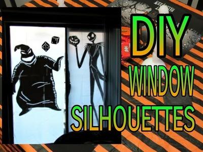 How to Make Halloween Window Silhouettes | DIY Halloween Decor