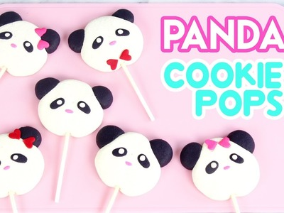 How to Make Panda Cookie Pops!