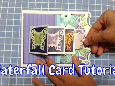 How to make Waterfall Card | Waterfall Card Tutorial (Basic)