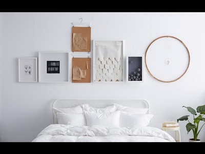 IKEA Ideas: How to hang pictures in a straight line
