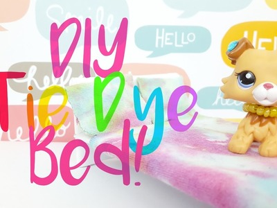 LPS: DIY Tie Dye Bed