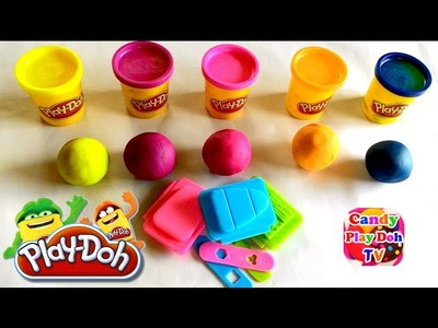 Play Dough Popsicles How To Make Play Doh Rainbow Ice Cream Fun and Creative for Kids