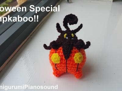 Pumpkaboo crochet Tutorial - Halloween special video