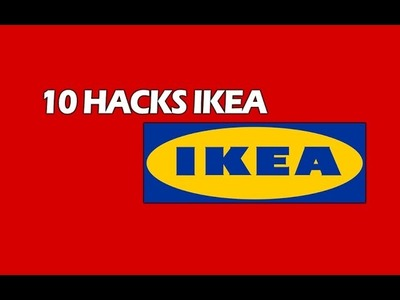 10 Best Ikea Hacks DIY (including 4 NEW ORIGINAL ideas) 4K