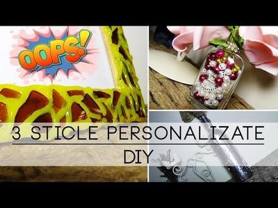 3 Sticle Personalizate   DIY
