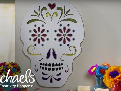 DIY: Day of the Dead Sugar Skull | Michaels