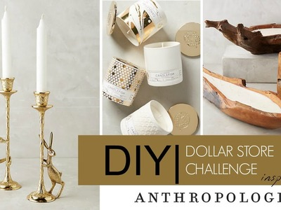 DIY Dollar Store Challenge Inspired By Anthropologie