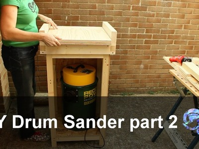 DIY Drum Sander part 2