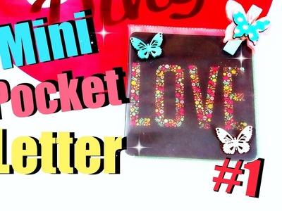 DIY Inspiration Ideen Challenge am Samstag# 1.2 | Pocket Letter & Photo Fuse deutsch | 9999 Dinge